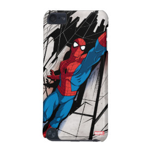 Spider-Man In Abstract City iPod Touch 5G Case
