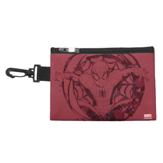 Spider-Man In Web Graphic Accessories Bag