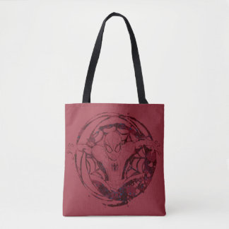 Spider-Man In Web Graphic Tote Bag