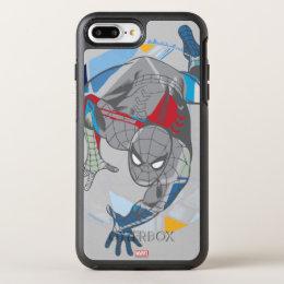 Spider-Man In Web OtterBox Symmetry iPhone 8 Plus/7 Plus Case