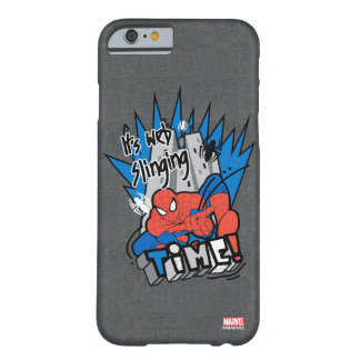 Spider-Man It's Web Slinging Time Barely There iPhone 6 Case