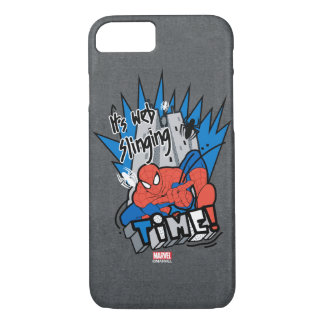 Spider-Man It's Web Slinging Time iPhone 8/7 Case