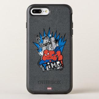 Spider-Man It's Web Slinging Time OtterBox Symmetry iPhone 8 Plus/7 Plus Case