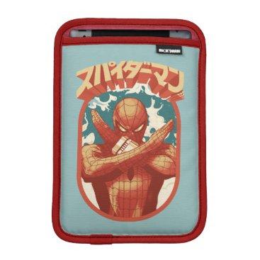 Spider-Man Japan | Spider-Man Cloud Emblem iPad Mini Sleeve