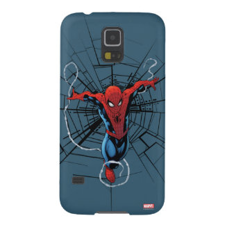 Spider-Man Leaping With Webbing Galaxy S5 Case
