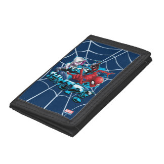 Spider-Man | Let's Thwip! Trifold Wallet