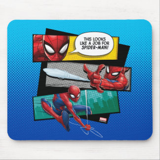 "Spider-Man | ""Looks Like A Job For Spider-Man"" Mouse Pad"