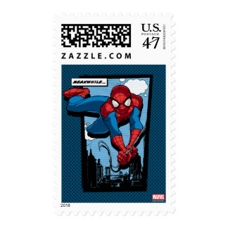 Spider-Man Meanwhile Comic Panel Stamp