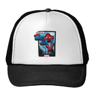 Spider-Man Meanwhile Comic Panel Trucker Hat