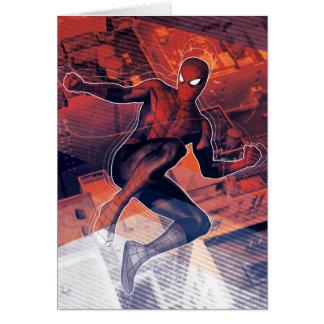 Spider-Man Mid-Air Spidey Sense Card