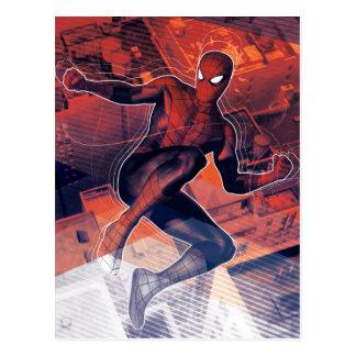 Spider-Man Mid-Air Spidey Sense Postcard