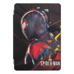 Spider-Man Miles Morales Hi-Tech Geometric Shatter iPad Pro Cover