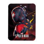 Spider-Man Miles Morales Hi-Tech Geometric Shatter Magnet