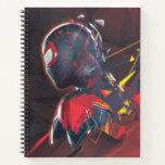 Spider-Man Miles Morales Hi-Tech Geometric Shatter Notebook