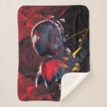 Spider-Man Miles Morales Hi-Tech Geometric Shatter Sherpa Blanket