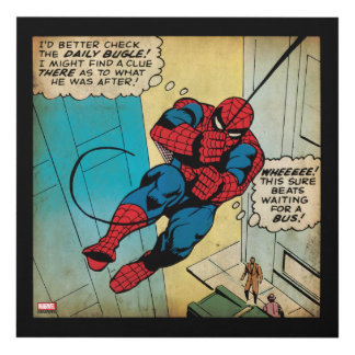 Spider-Man Off To Daily Bugle Comic Panel