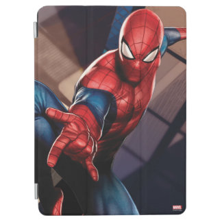Spider-Man On Skyscraper iPad Air Cover