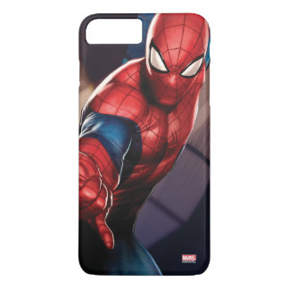 Spider-Man On Skyscraper iPhone 8 Plus/7 Plus Case