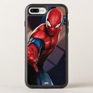 Spider-Man On Skyscraper OtterBox Symmetry iPhone 8 Plus/7 Plus Case