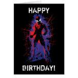 Spider-Man | Paint Splatter Character Art Card
