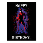 Spider-Man | Paint Splatter Character Art Postcard