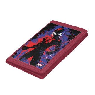 Spider-Man | Paint Splatter Character Art Trifold Wallet