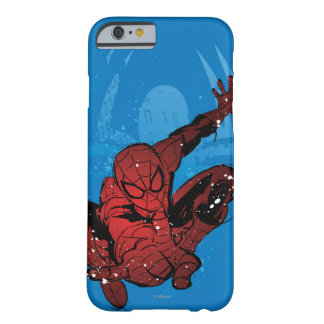 Spider-Man Paint Splatter & Logo Graphic Barely There iPhone 6 Case