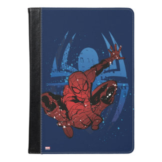Spider-Man Paint Splatter & Logo Graphic iPad Air Case