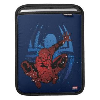 Spider-Man Paint Splatter & Logo Graphic iPad Sleeve