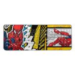 Spider-Man | Pop Art Web-Swinging Comic Panel Wireless Keyboard