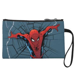 Spider-Man que salta con las correas