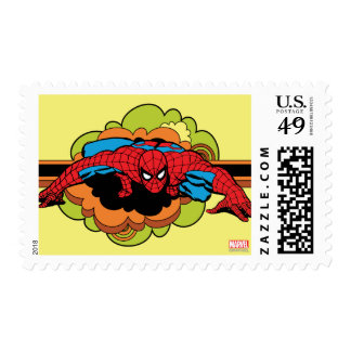 Spider-Man Retro Crawl Postage