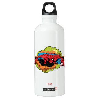 Spider-Man Retro Crawl Water Bottle