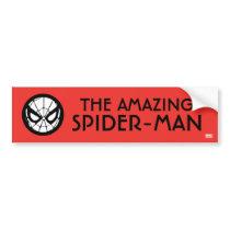 Spider-Man Retro Icon Bumper Sticker