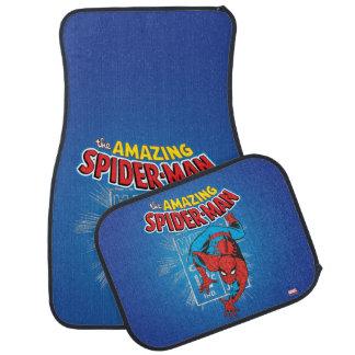 Spider-Man Retro Price Graphic Car Floor Mat