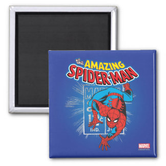 Spider-Man Retro Price Graphic Magnet