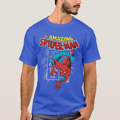 Spider-man Retro Price Graphic T-shirt at Zazzle