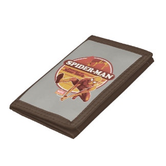 Spider-Man | Retro Protector Of New York Graphic Trifold Wallet