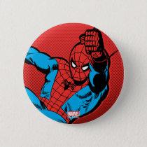 Spider-Man Retro Swinging Kick Button