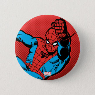 Spider-Man Retro Swinging Kick Button
