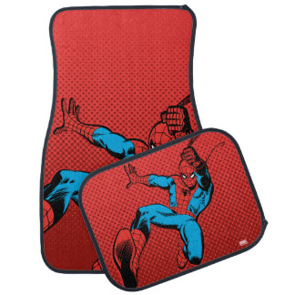 Spider-Man Retro Swinging Kick Car Mat