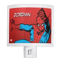 Spider-Man Retro Swinging Kick Night Light