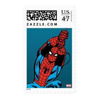 Spider-Man Retro Web Swing Postage