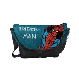 Spider-Man Retro Web Swing Small Messenger Bag