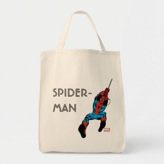 Spider-Man Retro Web Swing Tote Bag
