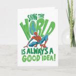 Spider-Man | Saving The World Card