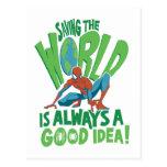 Spider-Man | Saving The World Postcard
