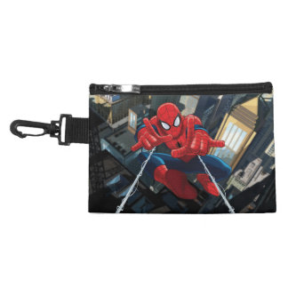 Spider-Man Shooting Web High Above City Accessory Bag