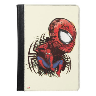 Spider-Man Sketched Marker Drawing iPad Air Case