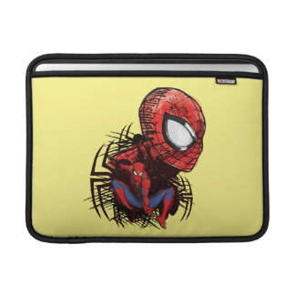 Spider-Man Sketched Marker Drawing Sleeves For MacBook Air